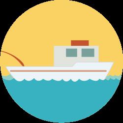 チャーター船と1日の流れ